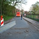 dog, ambulance, barrier, Falkensteiner Ufer
