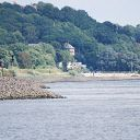 beach, Elbe, Falkensteiner Ufer, sea mole