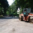 construction vehicle, Falkentaler Weg