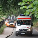bicycle, Falkensteiner Ufer, Cyclassics Hamburg, ambulance