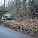 house, Falkensteiner Weg, forest, playground, fence