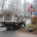 Falkensteiner Ufer, truck, traffic sign